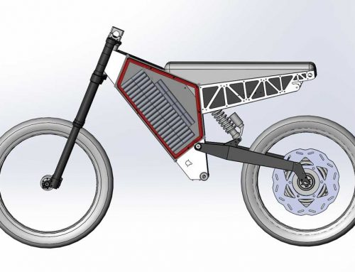 Extreme eBike – 3d Modeling